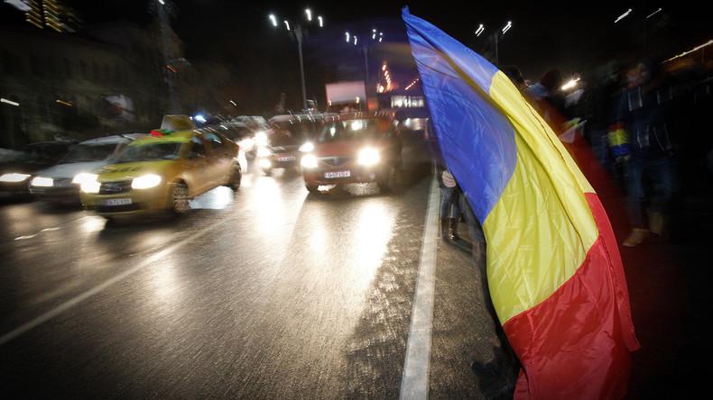 Massendemonstrationen in Rumänien für unabhängige Justiz
