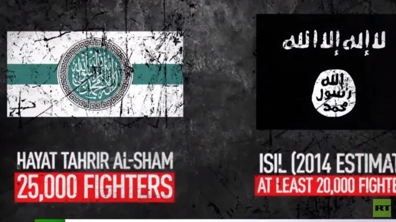 Syrien: Neue 25.000 Mann starke islamistische Terrorgruppe
