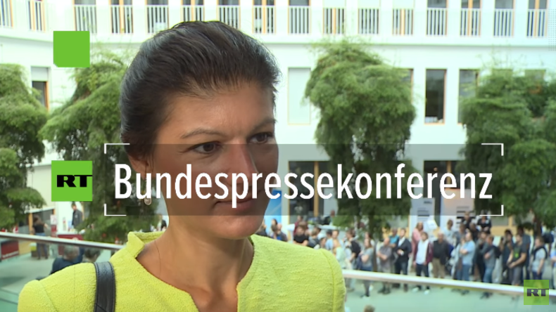 Offene tür berlin  Tag der offenen Tür Berlin - Wagenknecht kritisiert Unternehmen ...