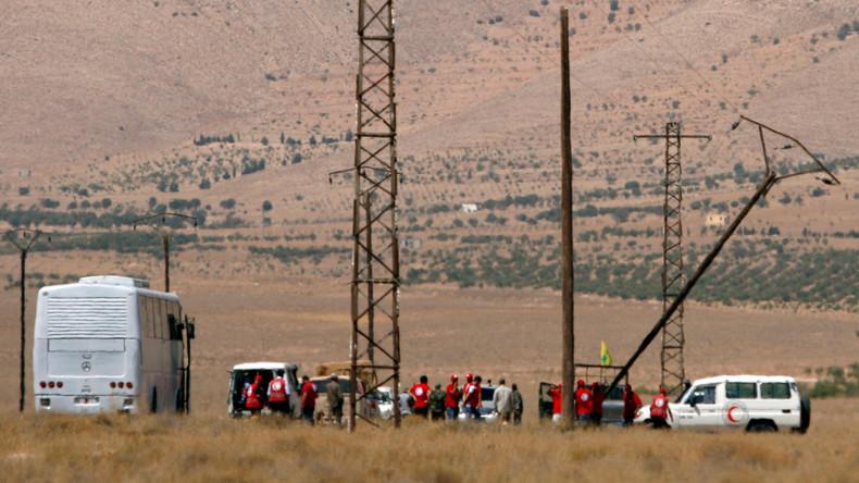 Abzug der IS-Kämpfer aus Libanon nach Syrien begonnen