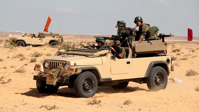 Ägyptische Armee tötet sieben Extremisten auf Sinai