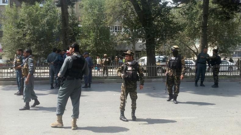 Explosion nahe US-Botschaft in Kabul - Fünf Tote, neun Verletzte