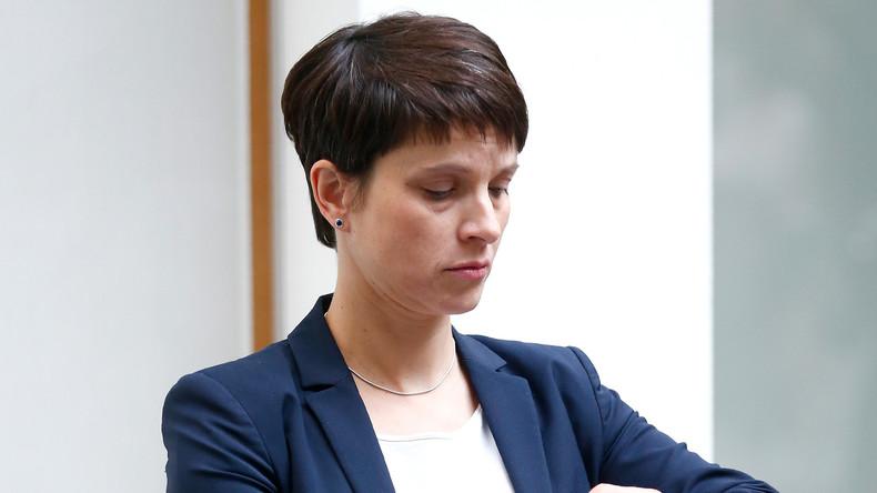 Nach Ablauf der Widerspruchsfrist: Parlamentarische Immunität von Frauke Petry aufgehoben