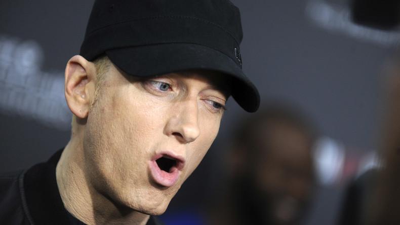 Trump kann ich nicht ausstehen: Rapper Eminem lässt Fans Anti-Trump-Parole skandieren [VIDEO]
