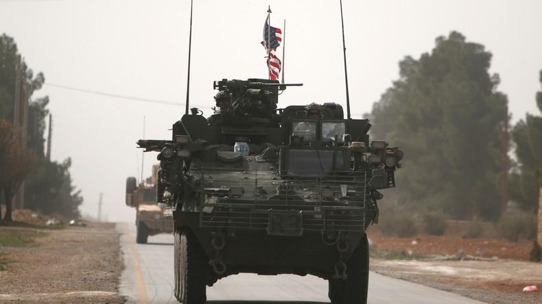 Syrien: US-Soldaten liefern sich Schießerei mit pro-türkischen Rebellen in Manbidsch