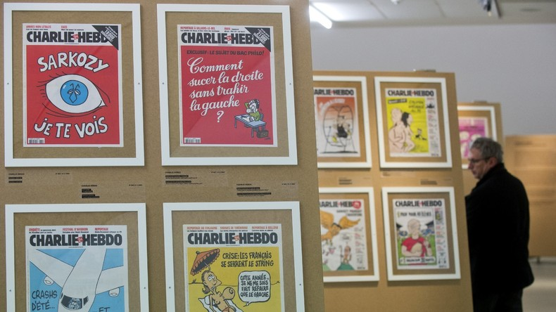 Barometer steht auf Sturm: Neueste Charlie Hebdo-Karikatur über Hurrikan Harveys Opfer