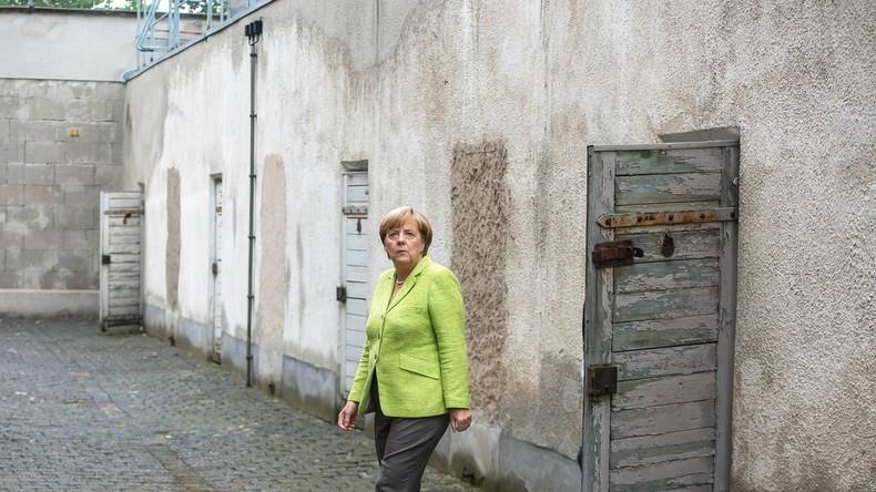 Gefälschtes Wahlplakat lässt Merkel mit angeblichem SED-Spruch werben