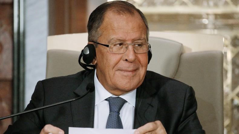 Lawrow dementiert russische Einflussnahme auf Bundestagswahlen