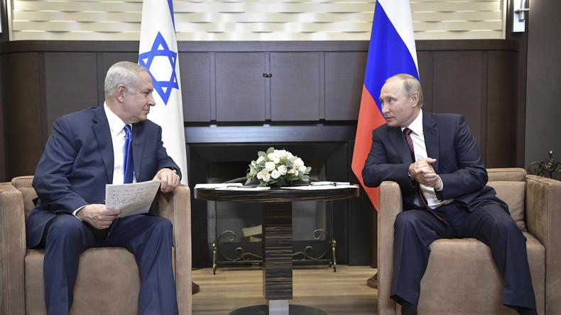 "Syrien: Putin zu Israels Drohung, Assad zu bombardieren: ""Viel Glück!"""