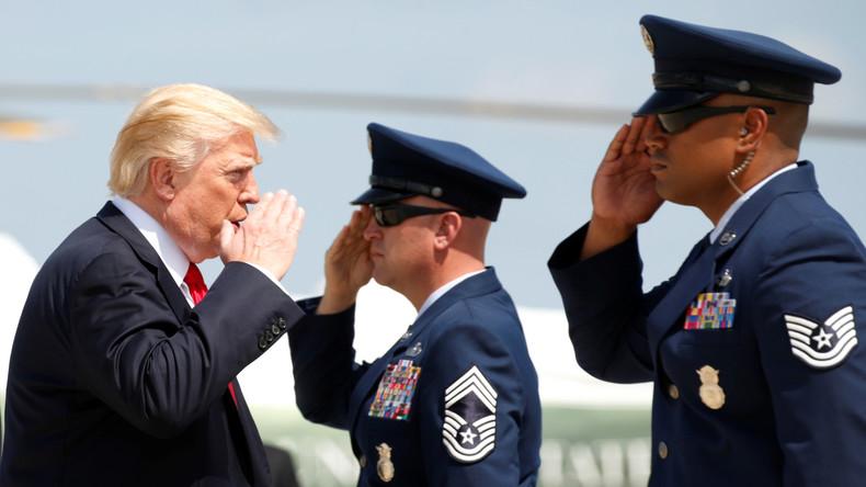 """Droht militärische Antwort? Trump droht Nordkorea: """"Reden ist nicht die Antwort!"""""""