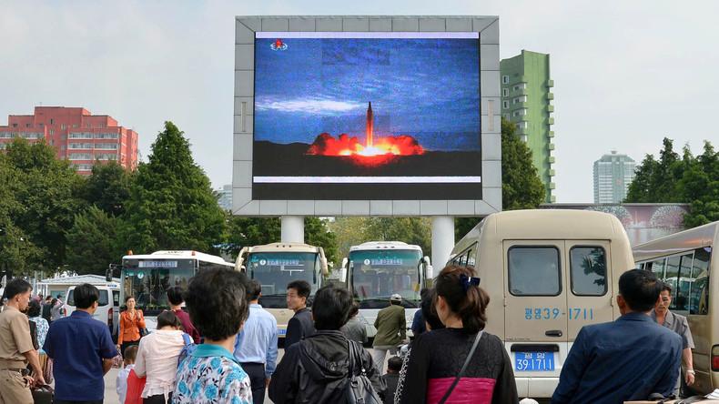 Amerikaner rechnen mit Perfektion der nordkoreanischen Interkontinentalrakete Ende 2018