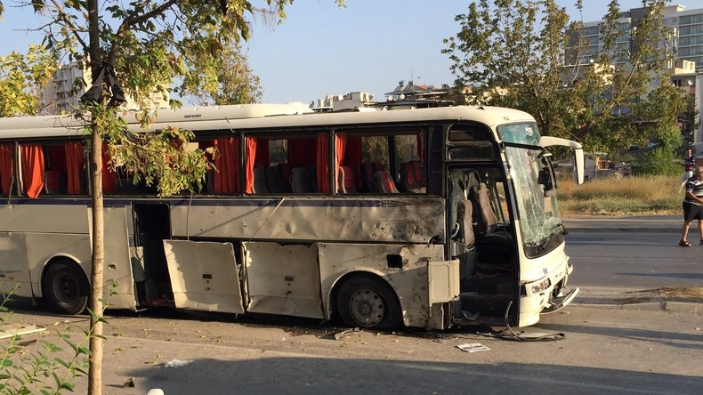 Anschlag auf Bus im türkischen Izmir: Bombe in Mülltonne versteckt, mindestens acht Verletzte