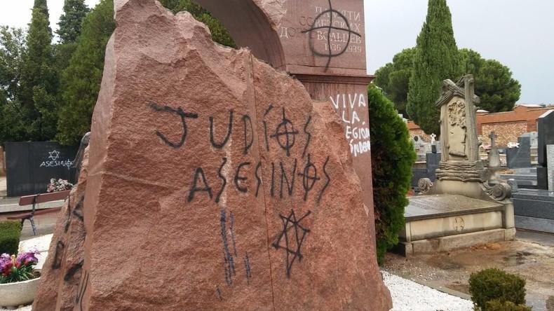 Denkmal für sowjetische Soldaten in Madrid geschändet