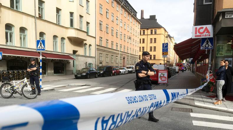 Stockholm Messerangriff auf Polizisten