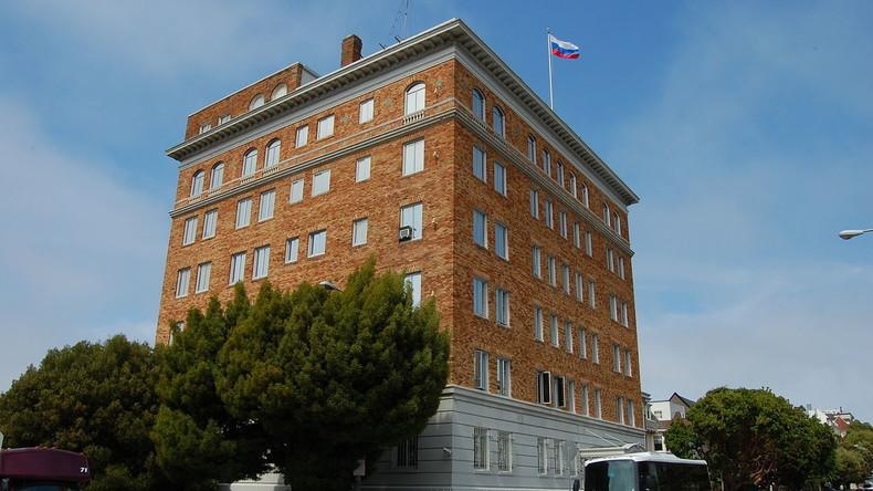 USA schließen russisches Konsulat in San Francisco