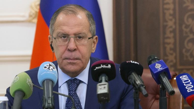 Russischer Außenminister Sergei Lawrow bedauert Schließung des Konsulats in San Francisco