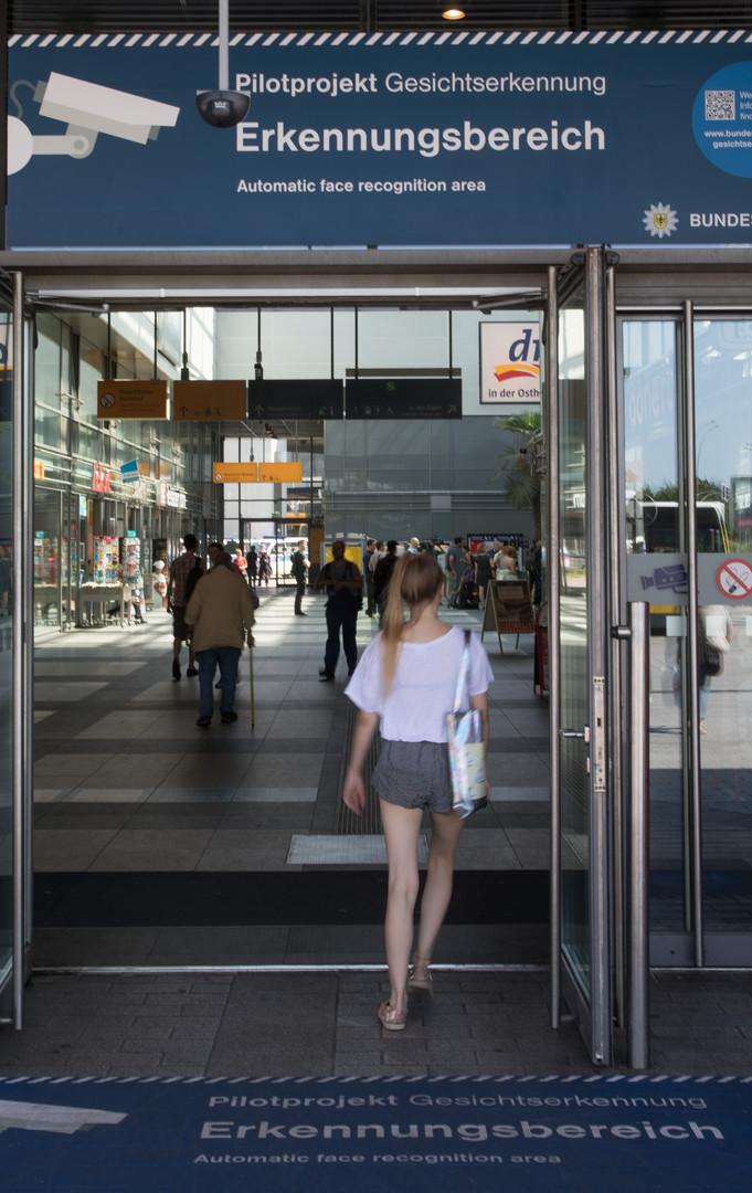 Berliner Testlauf zur Gesichtserkennung mit Überwachungskameras gestartet