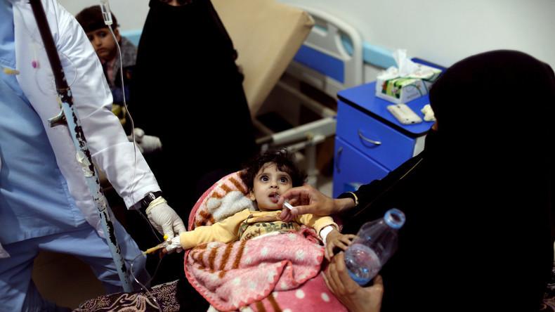 Hilfsorganisationen schlagen Alarm: Über 1 Million Kinder im Jemen von Hunger und Cholera betroffen