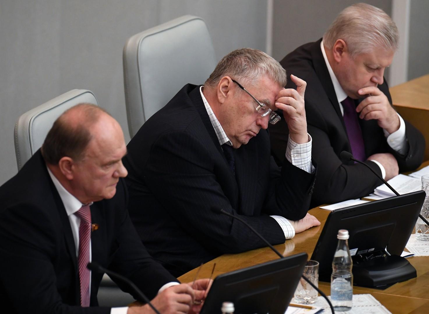 Liberaldemokratische Partei Russlands schlägt Übergang zu Zwei-Parteien-System nach US-Vorbild vor