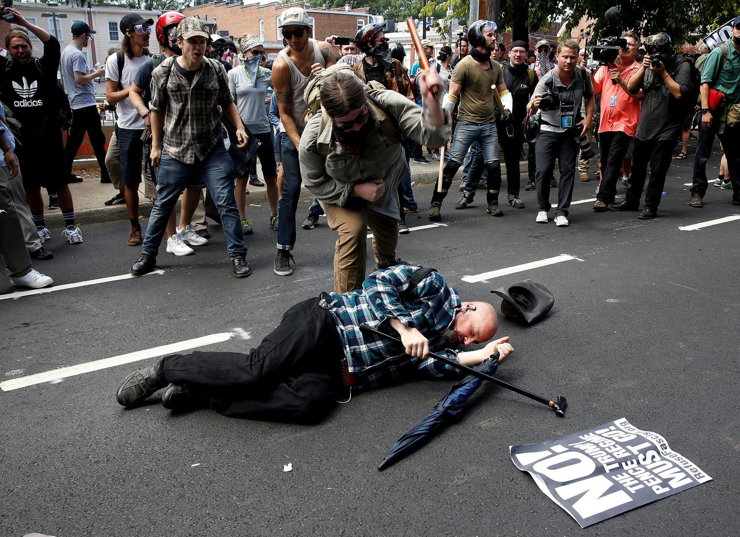 """""""Drohender Bürgerkrieg"""": Gewalt in den USA eskaliert - Antifa will keinen Dialog"""