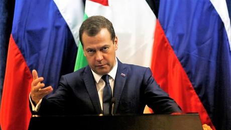 Russischer Premier-Minister Dmitri Medwedew