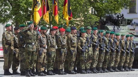Panzergrenadierbataillon aus Sachsen übernimmt NATO-Kommando in Litauen