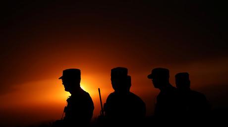 US-Soldaten bei der Militärübung