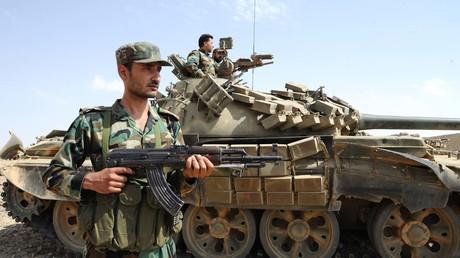 Soldaten der syrischen Armee. Archivbild.