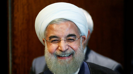 Der iranische Präsident Hassan Rouhani bei den Vereinten Nationen in New York, USA, 21. September 2016.