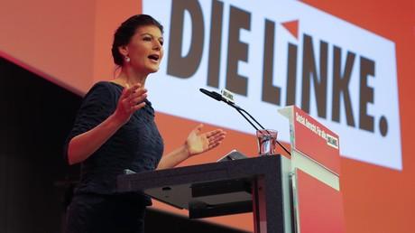 Linke-Spitzenkandidatin Sarah Wagenknecht begrüßt den Russland-Vorstoß von FDP-Chef Christian Lindner.