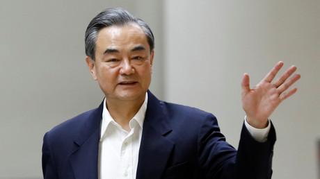 Der chinesische Außenminister Wang Yi in Manila, Philippinen, 8. August 2017.