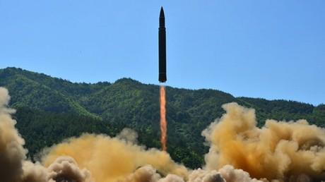 Im Juli führte Nordkorea erstmals einen erfolgreichen Test mit einer ballistischen Interkontinentalrakete durch.