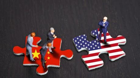 Passt das noch zusammen? US-Präsident Donald Trump will die Handelsbeziehungen zu China auf den Prüfstand stellen.