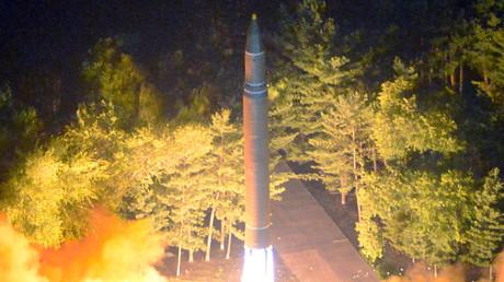 Der Raketentyp Hwasong-14 soll in der Lage sein, US-amerikanisches Festland zu erreichen.