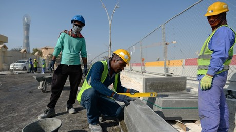 Katars Gastarbeiter müssen Hauptlast der arabischen Blockade tragen.