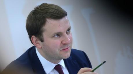 Maxim Oreschkin, der Wirtschaftsminister der Russischen Föderation.