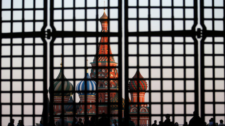 Die Sankt Basil Kathedrale in Moskau, Russland, 18. September 2014.