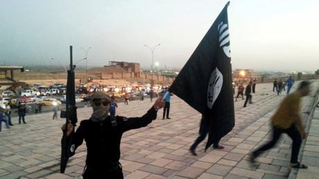 Ein Kämpfer des Islamischen Staats 2014 in Mossul.