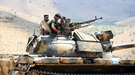 Nicht nur im Grenzgebiet zum Libanon kämpft die syrische Armee an der Seite der von Teheran unterstützten Hisbollah. Israel will die wachsende Präsenz des Irans in seinem Nachbarland nicht hinnehmen.