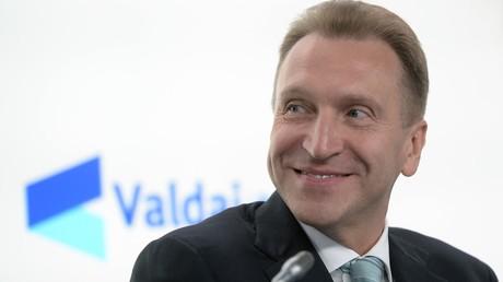 Igor Schuwalow, der erste stellvertretende Ministerpräsident Russlands.