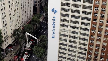 Hauptquartier des Konzerns Eletrobras in Rio de Janeiro.