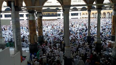 Zwei Millionen Pilger in Mekka - Hadsch beginnt
