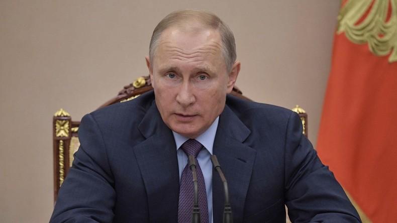 Putin: Dialog mit Pjöngjang nur ohne Vorbedingungen möglich