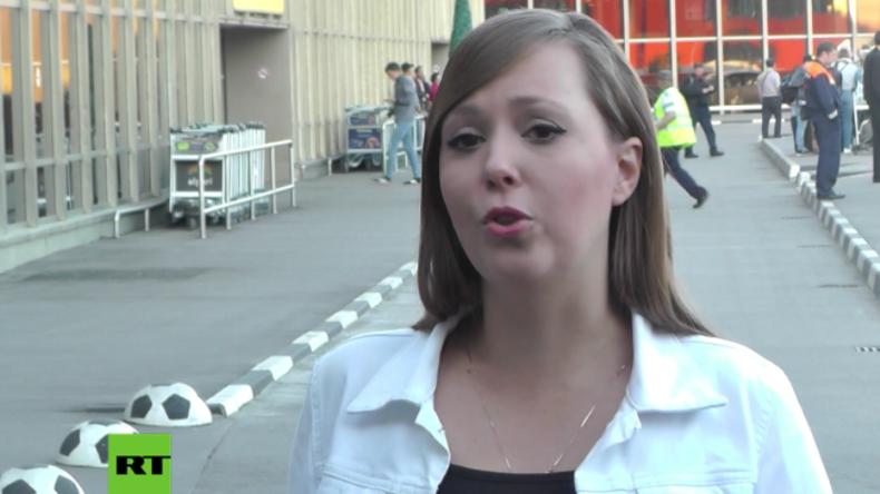 """""""Ich habe Bürgerkrieg und nicht russische Aggression gesagt"""" - Journalistin nach Festnahme in Kiew"""