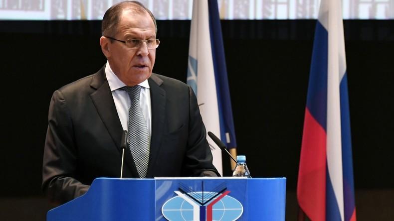 Lawrow zu Beziehungen zwischen Russland und den USA: Washington führt individuellen Breakdance auf