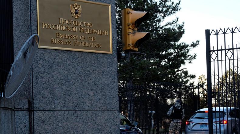 Diplomatischer Krieg: Von Obamas Rauswurf des Botschaftspersonals zu Trumps Konsulats-Schließung