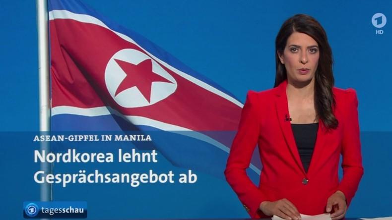 Programmbeschwerde gegen ARD: Nachrichtenunterschlagung und mediale Propaganda gegen Nordkorea