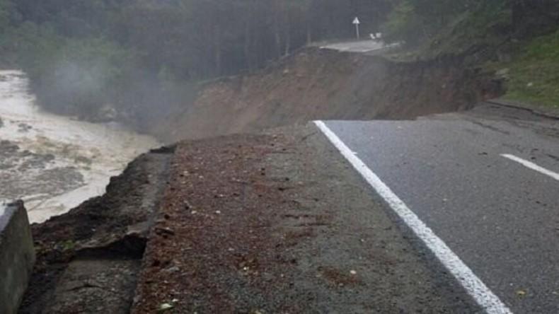 Lawine aus Schlamm und Geröll im Kaukasus: 260 Ausländer auf Elbrus abgesperrt