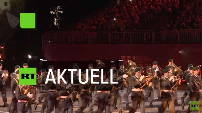 Spasskaja Baschnja 2017 – Militärmusik aus aller Welt auf dem Roten Platz
