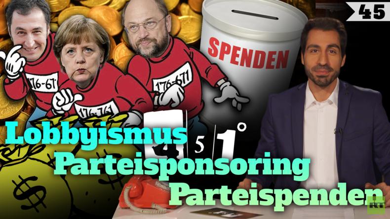 451 Grad   Hohe Konzernspenden vor den Bundestagswahlen   45